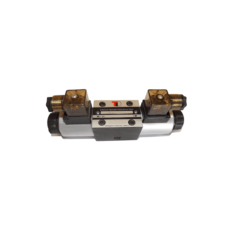 electrodistributeur 220 VAC monostable - NG6 - 4/3 CENTRE OUVERT - en H - N3. KVNG63220CAH  91,20€