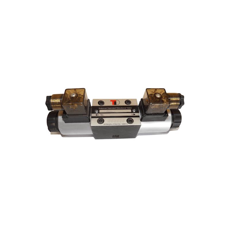 electrodistributeur 220 VAC monostable - NG6 - 4/3 CENTRE TANDEM - P sur T - N2.