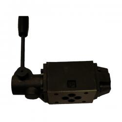 Distributeur a levier - NG 6 - 4-2 CENTRE P vers A et B vers T - N 51A KVNG6M51AH Distributeurs hydraulique