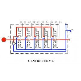 Distributeurs hydrauliques 60 L/mn - D.E - 5 L - 1/2 BSP - 315 B avec Limiteur Pression YFM555125PDDDDD 412,80 €