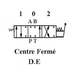 Distributeur hydraulique 130 L/mn - 3/4 BSP - D.E - 2 Levier - Limiteur Pression 140 B FM852342PDE Distributeurs 130 L/mn - 1...