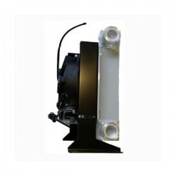 """Refroidisseur Echangeurs huile/air - 1 """" BSP - 12 VDC - 240 W - Débit 50 à 250 LICT39012VDC Echangeur de chaleur huile/air 77..."""