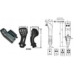 Poignées de commande Cobra : 2 Boutons