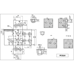 Embase pour 4 electro NG6 - 3/8 - Série et Tandem - Sans limiteur PF4SLH 148,80 €