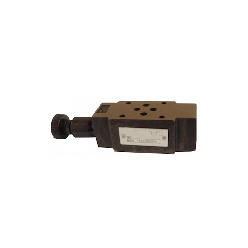 Limiteur de pression en P - sur embase Cetop 3 - 0/315 bar