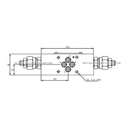 Limiteur de pression en P - sur embase Cetop 3 - 0/315 bar LPKV6P315H Distributeurs hydraulique 65,28€