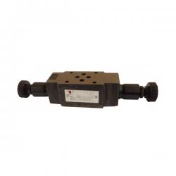 Limiteur de pression en A et B - sur embase Cetop 3 - 0/315 bar