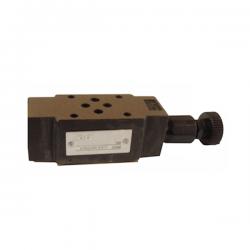 Limiteur de pression en B - sur embase Cetop 3 - 0/315 bar