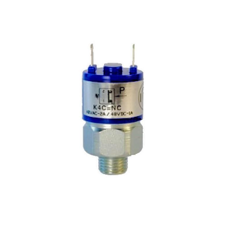 Pressostats Monocontacts a piston - N.C Réglables - Pression 300 Bar Maxi - Plage : 20 à 200 barK4ZCF1 Pressostat FOX K4 33,60€