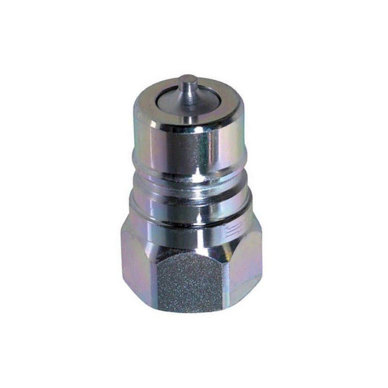 Coupleur hydraulique male - 1/4 BSP - ISO A - Débit 12 à 17 L/mn - PS 350 Bar A800104 6,49 €
