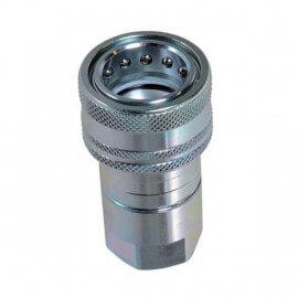 """Coupleur hydraulique ISO A - Femelle 1""""1/2 BSP - Débit 379 à 700 L/mn - PS 200 BarA800224 Coupleur femelle ISO A 220,80€"""