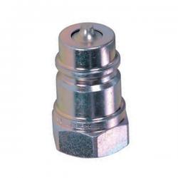 Coupleur hydraulique NV - Male DIN 1/4 BSP - Débit 12 à 24 L/mn - PS 400 Bar A820104 Coupleur male DIN NV 6,24€