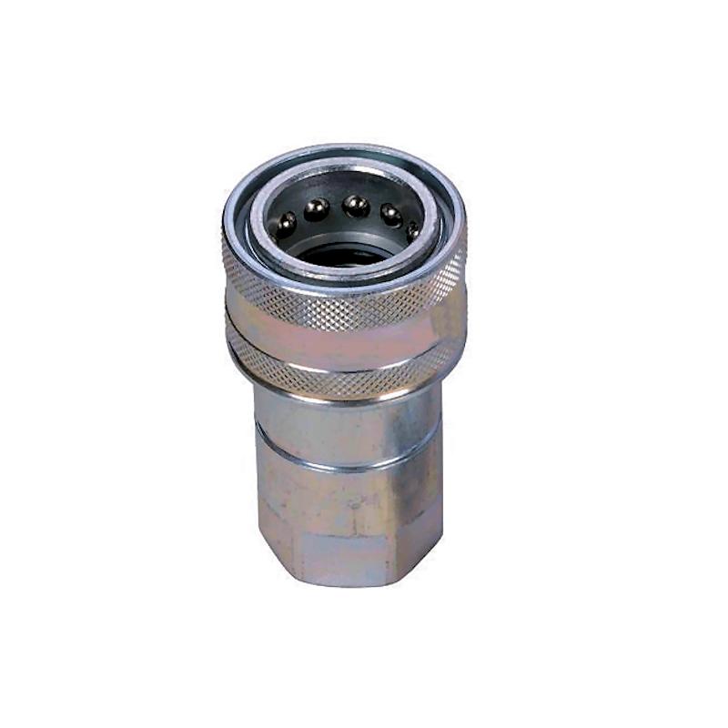 """Coupleur hydraulique NV - Femelle DIN 1"""" BSP - débit 189 à 250 L/mn - PS 250 Bar"""