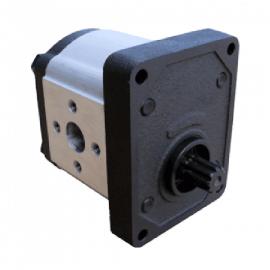 Pompe hydraulique SAME - GAUCHE - 8 CC - Denture 9Z