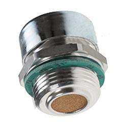 Bouchon acier reniflard - avec filtre 40µ - 1/4 BSP