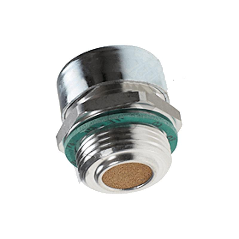 Bouchon acier reniflard - avec filtre 40µ - 1/2 BSP