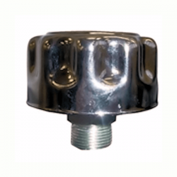Bouchon acier chromé reniflard - 1/4 BSP