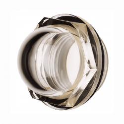 Voyant de niveau lateral acrilique - 3/4 BSP