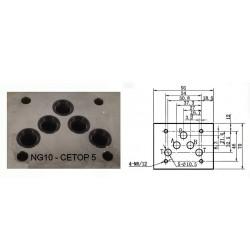 electro distributeur monostable - 4/2 - NG 10 - 12 V - Centre P vers A et B vers T- N51AKVNG1051A12CCH  110,40€