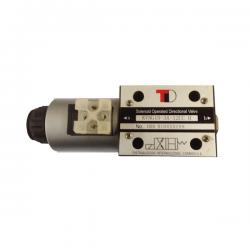 electro distributeur hydraulique monostable - NG10 - 4/2 CENTRE OUVERT - en H - 24 VCC. N3A.