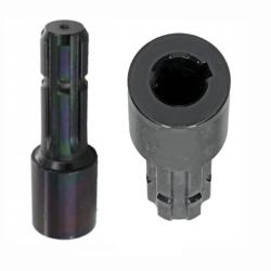 """Réducteur Ø 25 x 50 - Clavette 8 - Arbre PDF Z6 - 1""""3/8671020KR Tubes cannelés + clavetés 55,78€"""