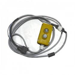 Boitier de Commande aimanté - électrique 2 Boutons Pré cablé 3 m MC036H Télécommandes  62,40€