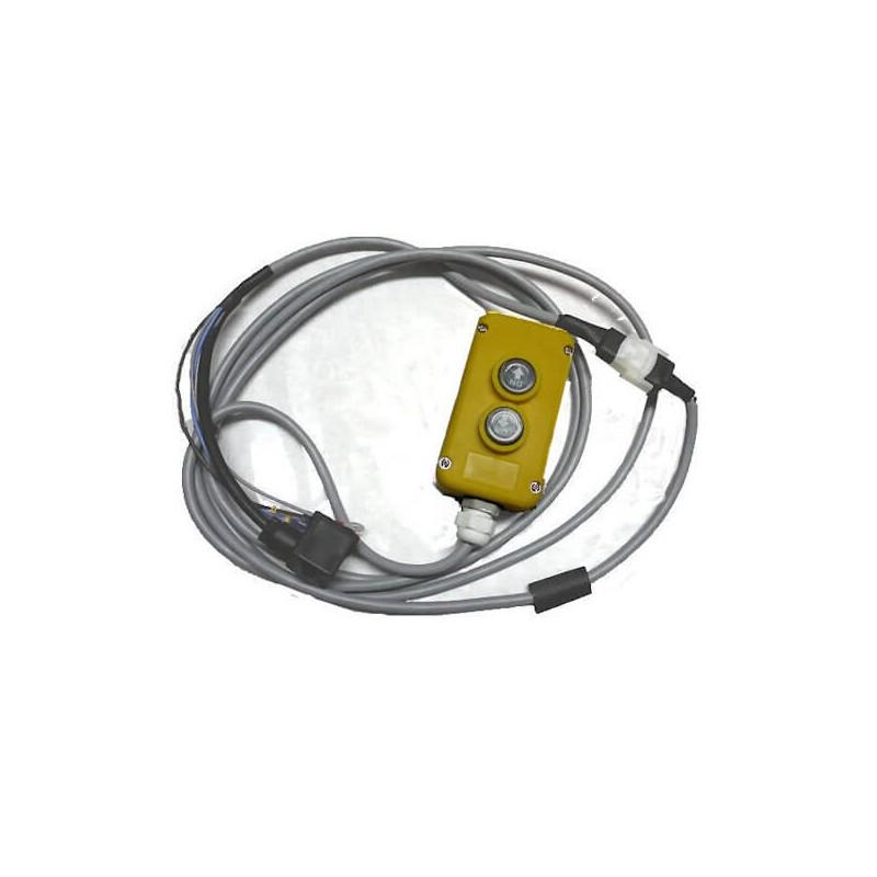 Boitier de Commande aimanté - électrique 2 Boutons momentanés Pré cablé 3 m MC036H 62,40 €