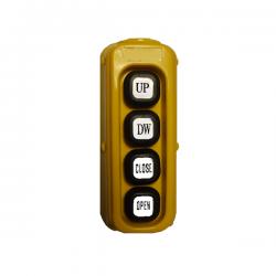 Boitier de Commande électrique 4 Boutons momentanés MC038H Télécommandes  82,08 €