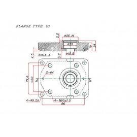 Pompe hydraulique FIAT - Double - 19 + 8 CC