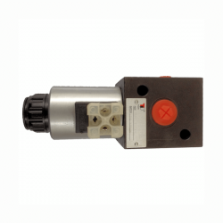 SELECTEUR HYDRAULIQUE - 3 VOIES - 1/2 BSP - 80 L/MN - 12 V CC