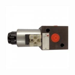 Sélecteur hydraulique - 3 VOIES - 1/2 BSP - 80 L/MN - 24 V CC. S3V1224CC Sélecteurs 3 voies 124,80€
