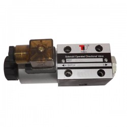 electrodistributeur 12 VDC monostable - NG6 - 3/2 - P vers A - B et T Fermé - N 41A. KVNG641A12CCH  78,72€
