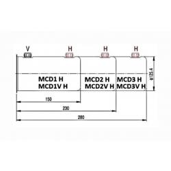 Reservoir H hydraulique métal - 1 L - pour mini centraleMCD1H Reservoirs hydraulique 26,40€