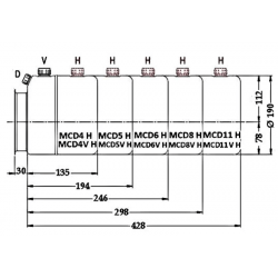 Reservoir H hydraulique métal - 4 L - pour mini centrale MCD4H 59,29 €
