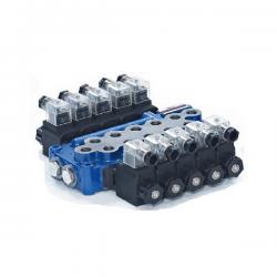 Distributeur electrique 3/8 BSP 12 VDC 4 Leviers