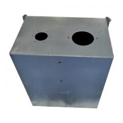Réservoir hydraulique rectangulaire - 10 L - NU - Prédisposé RM010 Reservoirs hydraulique