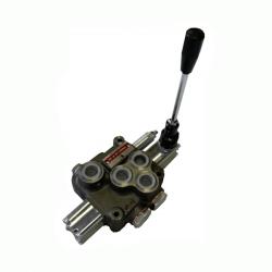 Distributeurs hydraulique D.E 45 L/mn - 315 bar - 3/8 BSP - 1 Levier - Limiteur Pression YFM351381PDE Distributeurs 45 L/mn -...