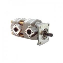 Pompe tandem KUBOTA-YANMAR - 5.3 cc - Arbre Cannelé Ø 13 - 12 Dents - DROITE - GHKP0553-53CSES Pompe hydraulique 595,20€