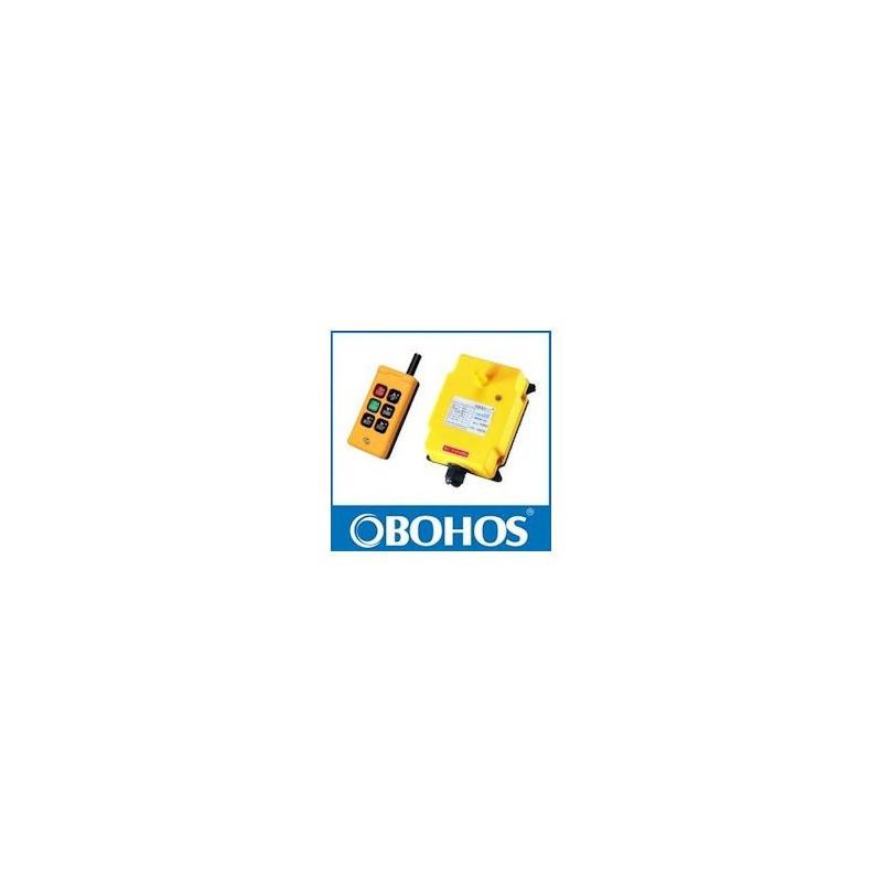 Radio commande 12/24 VDC - 6 boutons - M-A + 4 TOUCHES - 1 émetteur - 1 récepteur HS061224RA 391,78 €