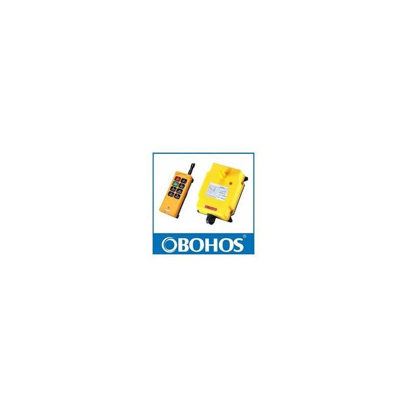Radio commande 12/24 VDC - 8 boutons - M-A + 6 TOUCHES - 1 émetteur - 1 récepteur HS081224RB 443,67 €