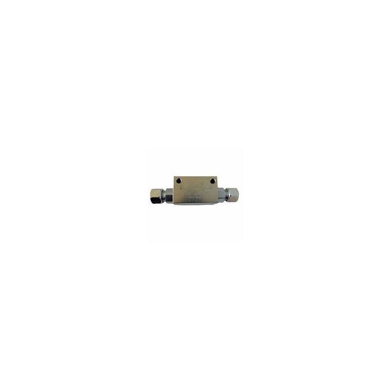 Clapet anti retour double piloté en T - DN 12 L - R 1:4 - 20 L/MN - 300 B - L 126 VT008006202RO 35,41 €