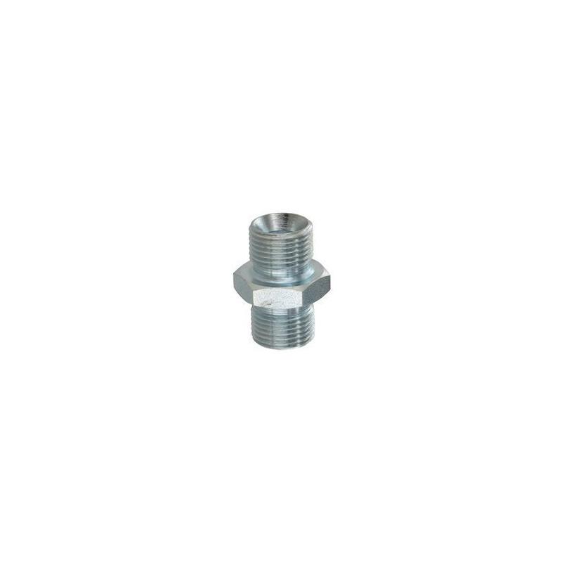 Adaptateur mâle hexagonal avec portée de joint - MBSPCT 1/4 x MBSPCT 1/4 - Cône 60°. A101004 1,82 €