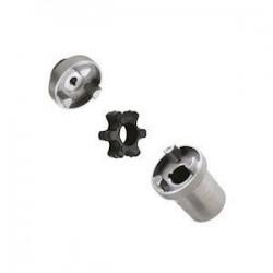 Accouplement élastique - Arbre Moteur electrique DN 19 / Pompe GR2 - cone 1/8