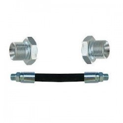 Flexible R2T 1/4 - PS 400 - Lg 50 cm - Male 1/4 MBSPCT - Male 1/4 MBSPCT R2T14L050MM14 18,72 €