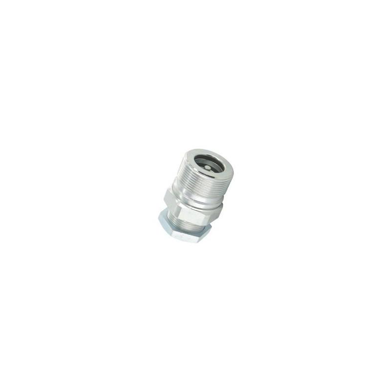 Coupleur hydraulique ISO A - Male 1/4 BSP - Débit 12 à 17 L/mn - PS 350 Bar