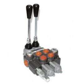 Distributeurs hydrauliques - 1/2 BSP - D.E - 2 Leviers - Limiteur Pression 140 B - 60 L/mn