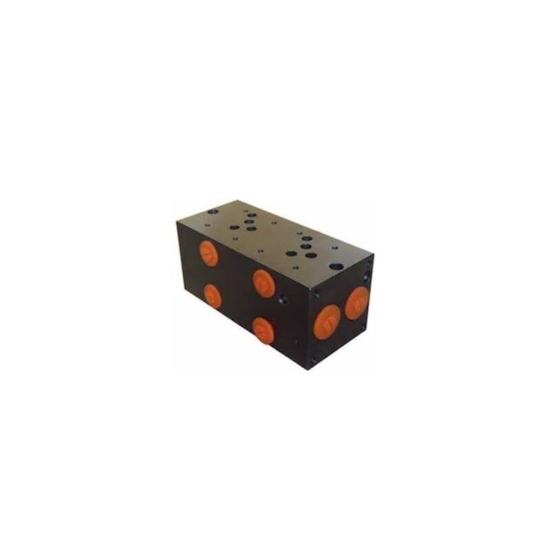Embase pour 2 electro NG10 - 1/2 - Série et Tandem - Sans limiteur
