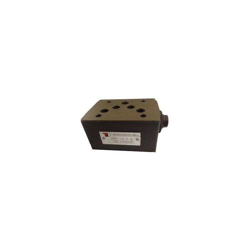 Anti-retour en A et B sur embase Cetop 5 APKV10DH Distributeurs hydraulique 92,64€