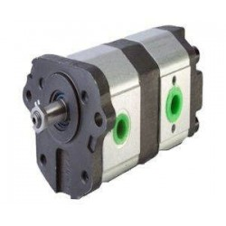 Pompe hydraulique Double - GAUCHE - 8 + 11 CC - Atlas Landini LA510365315 Pompe hydraulique 641,28€
