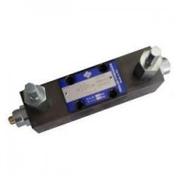 Inverseur automatique volumétrique - sur embase Cetop 3 - P 210B -T 40B PKV6 Distributeurs hydraulique